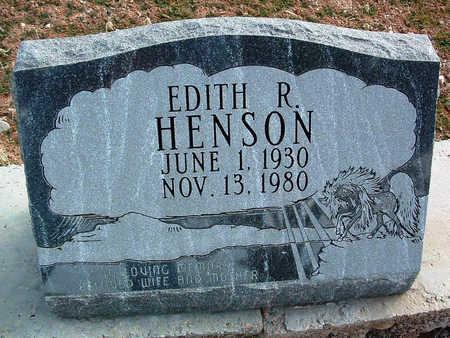 HENSON, EDITH R. - Yavapai County, Arizona | EDITH R. HENSON - Arizona Gravestone Photos