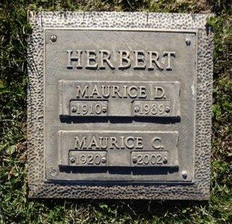 HERBERT, MAURICE DEPONAI - Yavapai County, Arizona | MAURICE DEPONAI HERBERT - Arizona Gravestone Photos