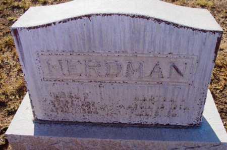 HERDMAN, MARTHA - Yavapai County, Arizona | MARTHA HERDMAN - Arizona Gravestone Photos