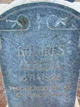 EREDIA HEREDIA, DOLORES - Yavapai County, Arizona | DOLORES EREDIA HEREDIA - Arizona Gravestone Photos