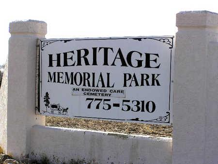 HERITAGE MEMORIAL, CEMETERY - Yavapai County, Arizona | CEMETERY HERITAGE MEMORIAL - Arizona Gravestone Photos