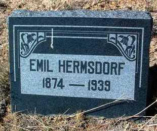 HERMSDORF, EMIL - Yavapai County, Arizona | EMIL HERMSDORF - Arizona Gravestone Photos