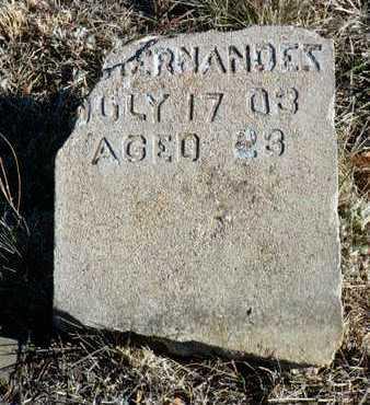 HERNANDEZ, V. - Yavapai County, Arizona | V. HERNANDEZ - Arizona Gravestone Photos