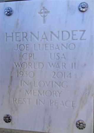 HERNANDEZ, JOE LUEBANO - Yavapai County, Arizona   JOE LUEBANO HERNANDEZ - Arizona Gravestone Photos