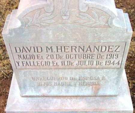 HERNANDEZ, DAVID M. - Yavapai County, Arizona | DAVID M. HERNANDEZ - Arizona Gravestone Photos