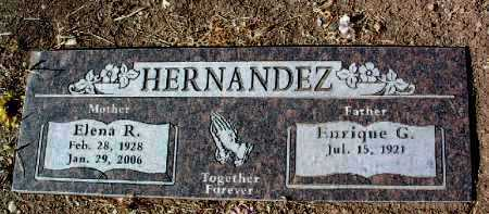 HERNANDEZ, ENRIQUE G. - Yavapai County, Arizona | ENRIQUE G. HERNANDEZ - Arizona Gravestone Photos