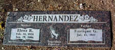 HERNANDEZ, ELENA R. - Yavapai County, Arizona | ELENA R. HERNANDEZ - Arizona Gravestone Photos
