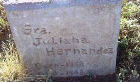 HERNANDEZ, JULIANA - Yavapai County, Arizona | JULIANA HERNANDEZ - Arizona Gravestone Photos