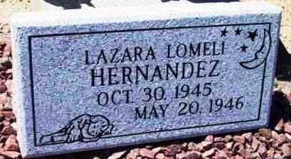 HERNANDEZ, LEZARA LOMELI - Yavapai County, Arizona | LEZARA LOMELI HERNANDEZ - Arizona Gravestone Photos