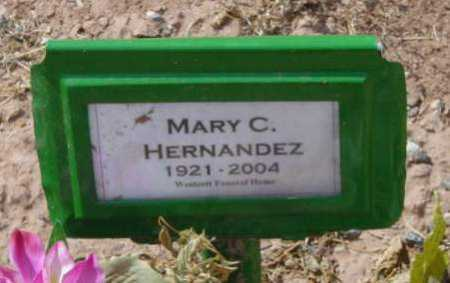 HERNANDEZ, MARY C. - Yavapai County, Arizona | MARY C. HERNANDEZ - Arizona Gravestone Photos
