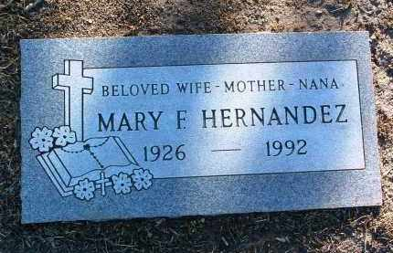 HERNANDEZ, MARY F. - Yavapai County, Arizona | MARY F. HERNANDEZ - Arizona Gravestone Photos
