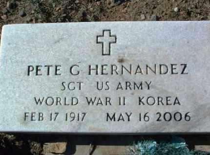 HERNANDEZ, PETE G. - Yavapai County, Arizona | PETE G. HERNANDEZ - Arizona Gravestone Photos