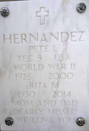 HERNANDEZ, PETE L. (PEDRO) - Yavapai County, Arizona | PETE L. (PEDRO) HERNANDEZ - Arizona Gravestone Photos