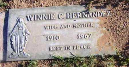 HERNANDEZ, WINNIE C. - Yavapai County, Arizona | WINNIE C. HERNANDEZ - Arizona Gravestone Photos