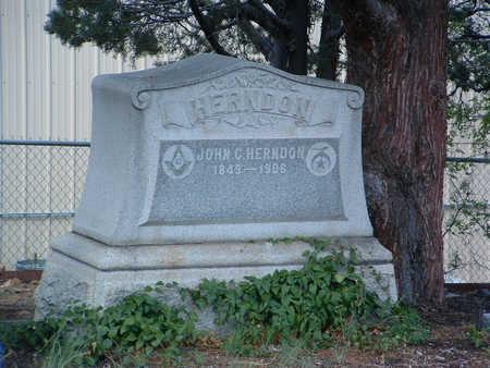 HERNDON, JOHN CLARK - Yavapai County, Arizona | JOHN CLARK HERNDON - Arizona Gravestone Photos