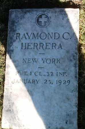 HERRERA, RAYMOND C. - Yavapai County, Arizona   RAYMOND C. HERRERA - Arizona Gravestone Photos