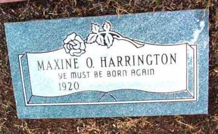 HERRINGTON, MAXINE O. - Yavapai County, Arizona | MAXINE O. HERRINGTON - Arizona Gravestone Photos