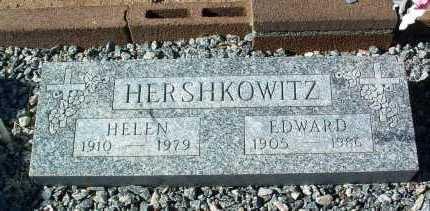 HERSHKOWITZ, HELEN - Yavapai County, Arizona   HELEN HERSHKOWITZ - Arizona Gravestone Photos