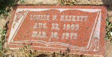 DAY HESKETT, LOUISE N. - Yavapai County, Arizona | LOUISE N. DAY HESKETT - Arizona Gravestone Photos