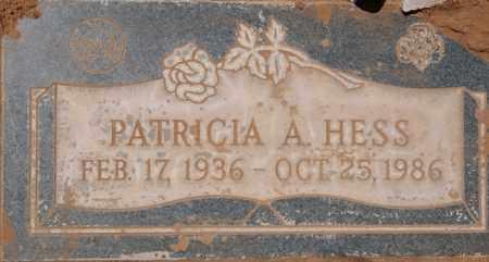 HARIS HESS, PATRICIA ANN - Yavapai County, Arizona | PATRICIA ANN HARIS HESS - Arizona Gravestone Photos