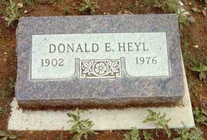 HEYL, DONALD E. - Yavapai County, Arizona | DONALD E. HEYL - Arizona Gravestone Photos