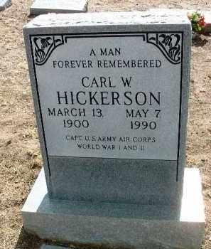 HICKERSON, CARL W. - Yavapai County, Arizona | CARL W. HICKERSON - Arizona Gravestone Photos