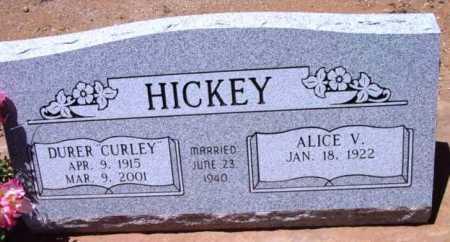 HICKEY, ALICE V. - Yavapai County, Arizona | ALICE V. HICKEY - Arizona Gravestone Photos
