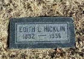 ROLLINS HICKLIN, EDITH L. - Yavapai County, Arizona | EDITH L. ROLLINS HICKLIN - Arizona Gravestone Photos