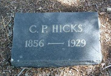 HICKS, CHARLES PAYNE - Yavapai County, Arizona | CHARLES PAYNE HICKS - Arizona Gravestone Photos