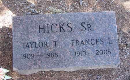 HICKS, TAYLOR THOMAS, SR. - Yavapai County, Arizona | TAYLOR THOMAS, SR. HICKS - Arizona Gravestone Photos