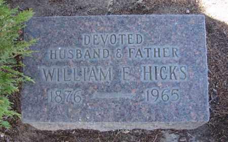 HICKS, WILLIAM EMMETT - Yavapai County, Arizona | WILLIAM EMMETT HICKS - Arizona Gravestone Photos