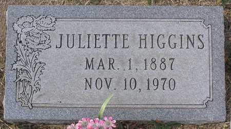 HIGGINS, JULIETTE T. - Yavapai County, Arizona | JULIETTE T. HIGGINS - Arizona Gravestone Photos