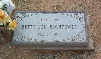 NEILSON HIGHTOWER, B. - Yavapai County, Arizona | B. NEILSON HIGHTOWER - Arizona Gravestone Photos
