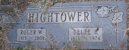 HIGHTOWER, ROGER WILLIAM - Yavapai County, Arizona | ROGER WILLIAM HIGHTOWER - Arizona Gravestone Photos