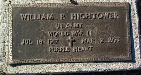 HIGHTOWER, WILLIAM P. - Yavapai County, Arizona | WILLIAM P. HIGHTOWER - Arizona Gravestone Photos