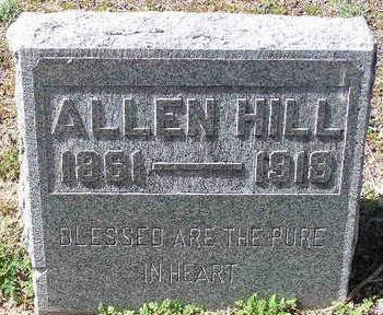 HILL, ALLEN C. - Yavapai County, Arizona   ALLEN C. HILL - Arizona Gravestone Photos