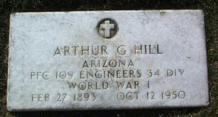 HILL, ARTHUR G. - Yavapai County, Arizona | ARTHUR G. HILL - Arizona Gravestone Photos