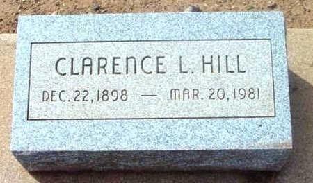 HILL, CLARENCE LESLIE - Yavapai County, Arizona | CLARENCE LESLIE HILL - Arizona Gravestone Photos