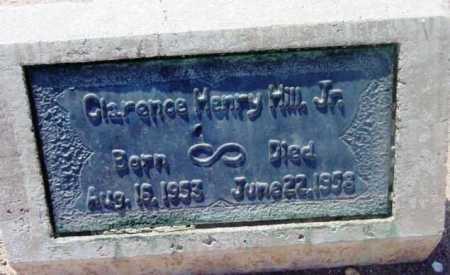 HILL, CLARENCE HENRY, JR. - Yavapai County, Arizona | CLARENCE HENRY, JR. HILL - Arizona Gravestone Photos