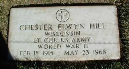 HILL, CHESTER ELWYN - Yavapai County, Arizona | CHESTER ELWYN HILL - Arizona Gravestone Photos