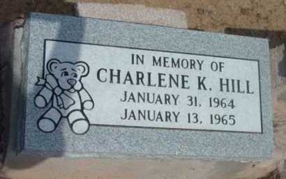 HILL, CHARLENE K. - Yavapai County, Arizona   CHARLENE K. HILL - Arizona Gravestone Photos
