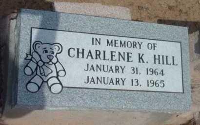 HILL, CHARLENE K. - Yavapai County, Arizona | CHARLENE K. HILL - Arizona Gravestone Photos