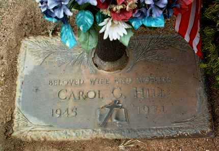 HILL, CAROL GERTRUDE - Yavapai County, Arizona | CAROL GERTRUDE HILL - Arizona Gravestone Photos