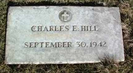 HILL, CHARLES E. - Yavapai County, Arizona   CHARLES E. HILL - Arizona Gravestone Photos