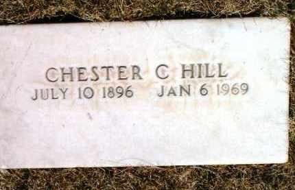 HILL, CHESTER C. - Yavapai County, Arizona   CHESTER C. HILL - Arizona Gravestone Photos