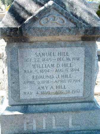 HILL, EDMUND J. - Yavapai County, Arizona   EDMUND J. HILL - Arizona Gravestone Photos