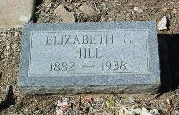 HILL, ELIZABETH C. - Yavapai County, Arizona   ELIZABETH C. HILL - Arizona Gravestone Photos