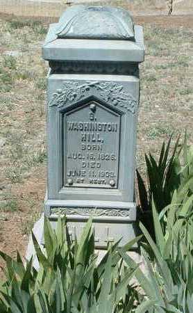 HILL, GEORGE WASHINGTON - Yavapai County, Arizona | GEORGE WASHINGTON HILL - Arizona Gravestone Photos