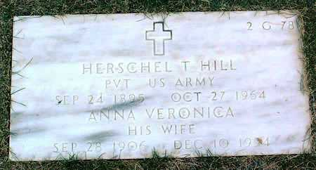 HILL, HERSCHEL  THOMAS - Yavapai County, Arizona | HERSCHEL  THOMAS HILL - Arizona Gravestone Photos
