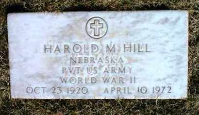 HILL, HAROLD MCCAIN - Yavapai County, Arizona | HAROLD MCCAIN HILL - Arizona Gravestone Photos